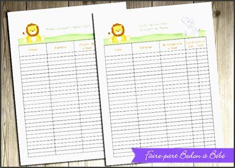 baby shower planner editable sampletemplatess