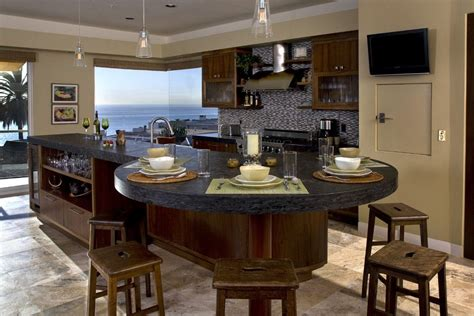granite kitchen island  dining table home sweet home