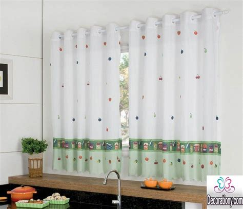 kitchen curtains design 25 modern curtains designs for more look 1057