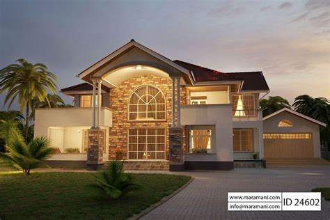 House With 4 Bedrooms by 4 Bedroom House Plan Id 24602 House Plans By Maramani