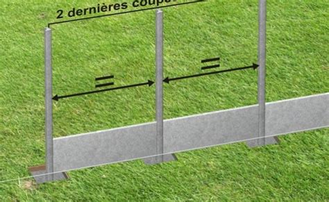 poteau beton cloture clotures de jardin chromeleon