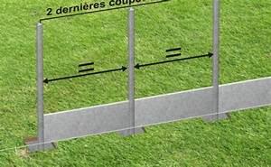 Poteau Beton Cloture Bricomarche : poteau beton cloture clotures de jardin chromeleon ~ Dailycaller-alerts.com Idées de Décoration