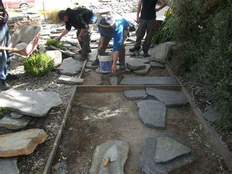 paving schist crazy pavers stones  bones