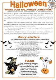 printable halloween stories  kids festival collections