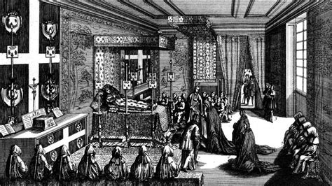 chambre de louis xiv mort de louis xiv wikipédia