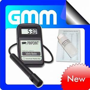 Tds To Ec Conversion Chart Pinpoint Salinity Monitor Water Quality Meter Tds Ph