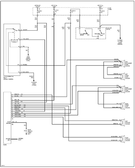 1993 Jeep Radio Wiring Diagram by System Wiring Diagrams 1993 Jeep Xj