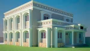 Ghana 3 Bedroom House Plans