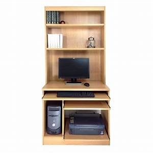 Home, Office, Computer, Work, Station, With, Hutch, U2022, Glasswells