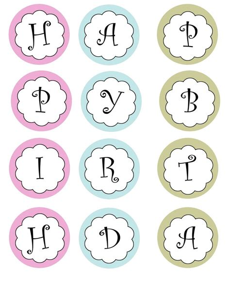 Pin by Morgan Wyeth on Banners | Birthday banner free ...