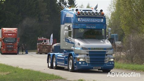 straengnaes truck meet  sweden youtube