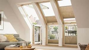 Les fenetres de toit pour agrandir les combles for Luminaire chambre enfant avec tryba porte fenetre pvc