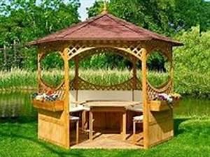 Holz Pavillon Bausatz : gartenpavillons garten pavillon ~ Frokenaadalensverden.com Haus und Dekorationen