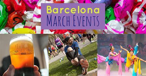 list  barcelona    amazing march