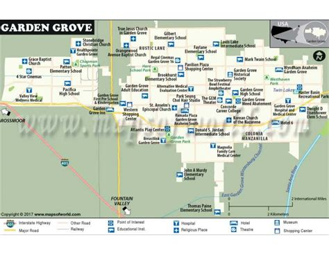 Garden Grove Ny by Buy Garden Grove City Map New York
