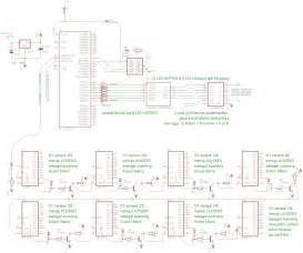 sirkitelektronika rangkaian running text