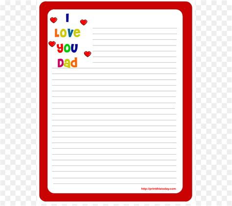 wedding invitation paper template letter fathers day
