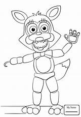 Freddy Coloring Fazbear Print Tech Pages Five Printable Fnaf Faz Getcolorings sketch template