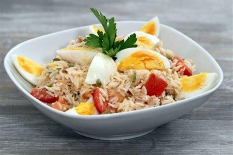 cuisine bordeaux recette de salade de riz au thon à notre façon facile et