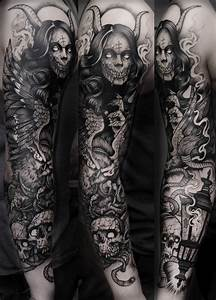 Image Gallery macabre tattoos