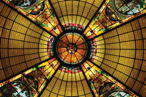 building   stained glass church dome traditional