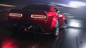 Dodge, Challenger, Srt, Demon, 4k, 2, Wallpaper