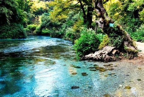 Syri kalter sarande Albania. Blue eye   Places to travel ...