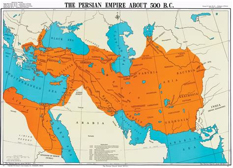 Persian Revolution In Ancient World