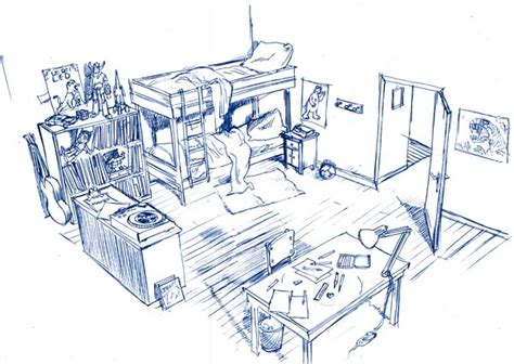 dessiner sa chambre en 3d décors pour un dessin animé benoi lacroix board