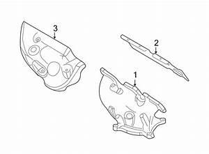 Mercury Sable Exhaust Manifold Heat Shield