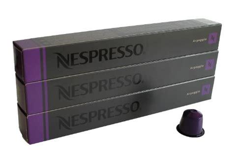 Purple Nespresso Machine by Nespresso Capsules Purple 30x Arpeggio Original Nestl 233