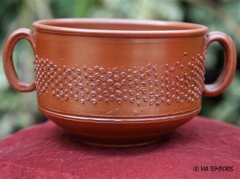 panier 騅ier cuisine ceramique gallo romaine tasse a parois fines mayet 38 via temporis
