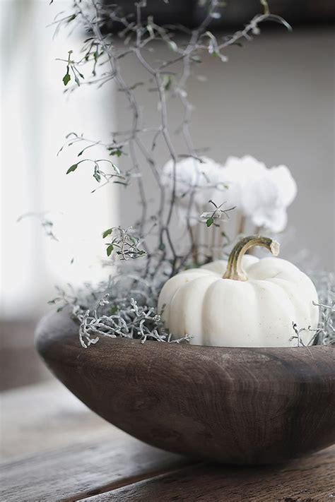 Kuerbis Dekorationsideenelegante Weisse Dekoration by Tischdeko Herbst 51 Vorschl 228 Ge F 252 R Eine Herbstliche