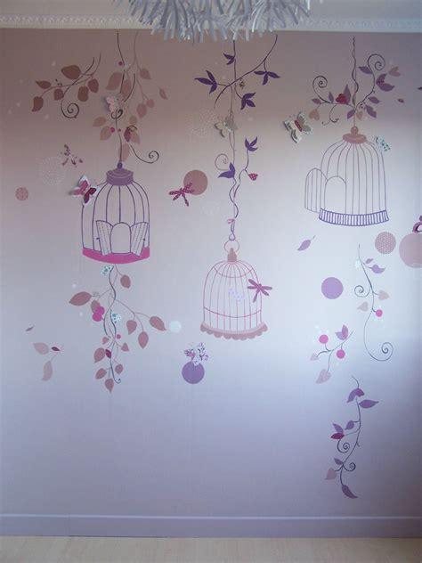 chambre papillon déco chambre bebe fille papillon