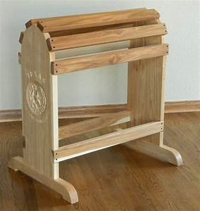 Hand Crafted Furniture Quality Saddle Rack by North Texas