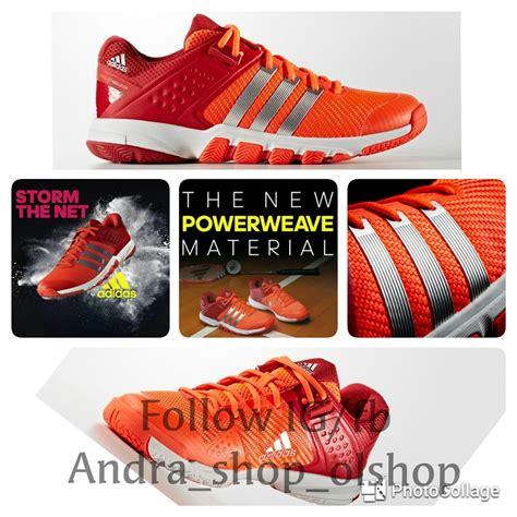 Sepatu Hak Ori jual sepatu badminton sepatu bulutangkis asli ori adidas