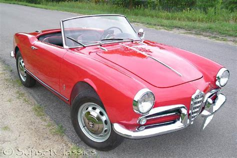 Alfa Romeo Giulietta Spider For Sale by 1959 Alfa Romeo Giulietta Spider Veloce For Sale