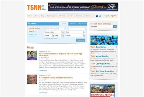 tsnn trade show news simple resume template