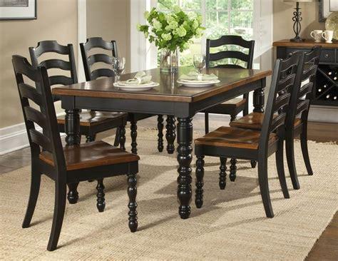 black kitchen table  chairs  sale kitcheniac
