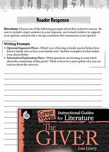 The Giver Reader Response Writing Prompts
