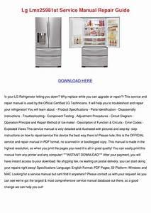 Lg Lmx25981st Service Manual Repair Guide By Kassiehoman