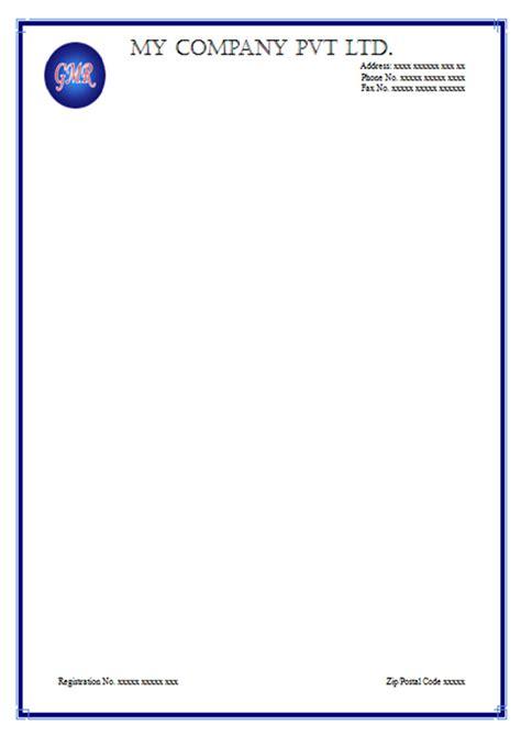letterhead design  word format  letterhead