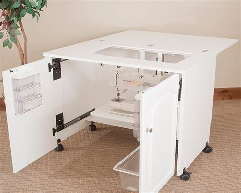 sewing cabinets with lift model 7500 space saver sewing cabinet pocket doors extra