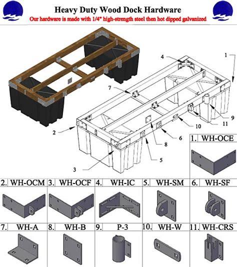 wooden dock plans  woodworking