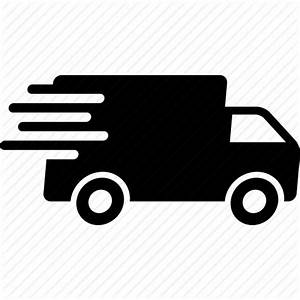 Courier, delivery, express, fast, package, shipping, truck ...