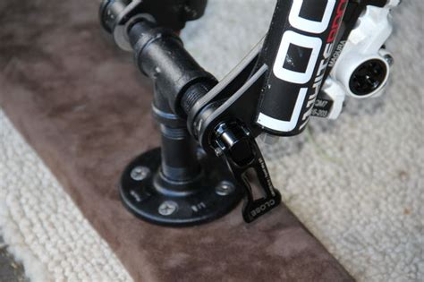 mountain bike fork truck mount
