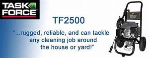 Task Force Tf2500 Gas Power Washer Replacement Parts