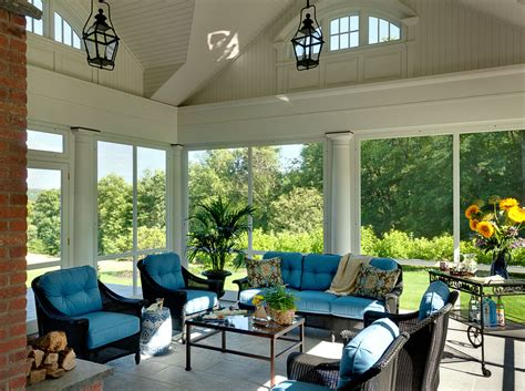 baroque screened in porch ideas in spaces traditional with