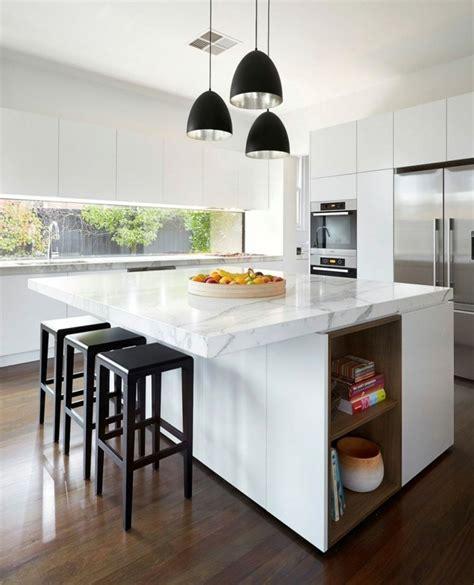 cuisine la couleur cuisine la cuisine blanche de style contemporain