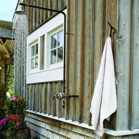To Da Loos Outdoor Showers, A Little Slice Of Heaven